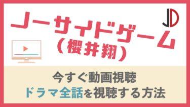 ドラマ|ノーサイドゲーム(櫻井翔)の動画を無料で1話から最終回まで視聴する方法