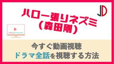 ドラマ|ハロー張りネズミ(森田剛)の動画を無料で最終回まで視聴する方法