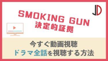 ドラマ|SMOKING GUN 決定的証拠の動画を無料で最終回まで視聴する方法