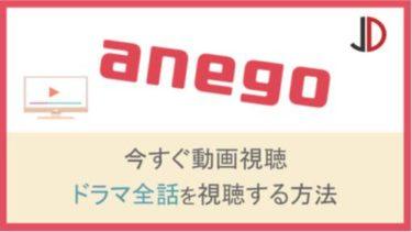 ドラマ|anego(アネゴ)の動画を無料で1話から最終回まで視聴する方法