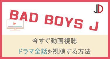 ドラマ|BAD BOYS J(バッドボーイズジェイ)の動画を無料でフル視聴する方法