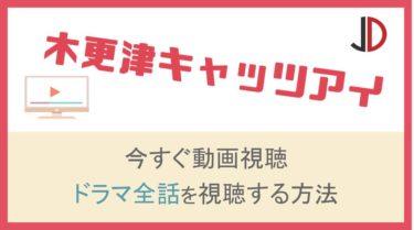 ドラマ|木更津キャッツアイの動画を無料で1話から最終回まで視聴する方法