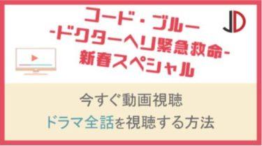 ドラマ|コードブルー 新春スペシャルの動画を無料でフル視聴する方法