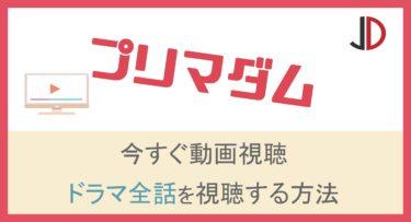 ドラマ プリマダム(中島裕翔)の動画を無料で1話から最終回まで視聴する方法