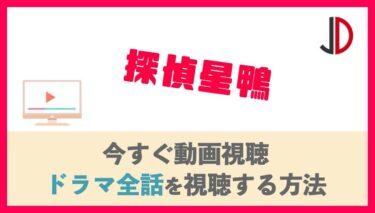 ドラマ|探偵星鴨の見逃し動画を無料視聴できる配信サービス紹介!1話〜最終回の再放送情報も!